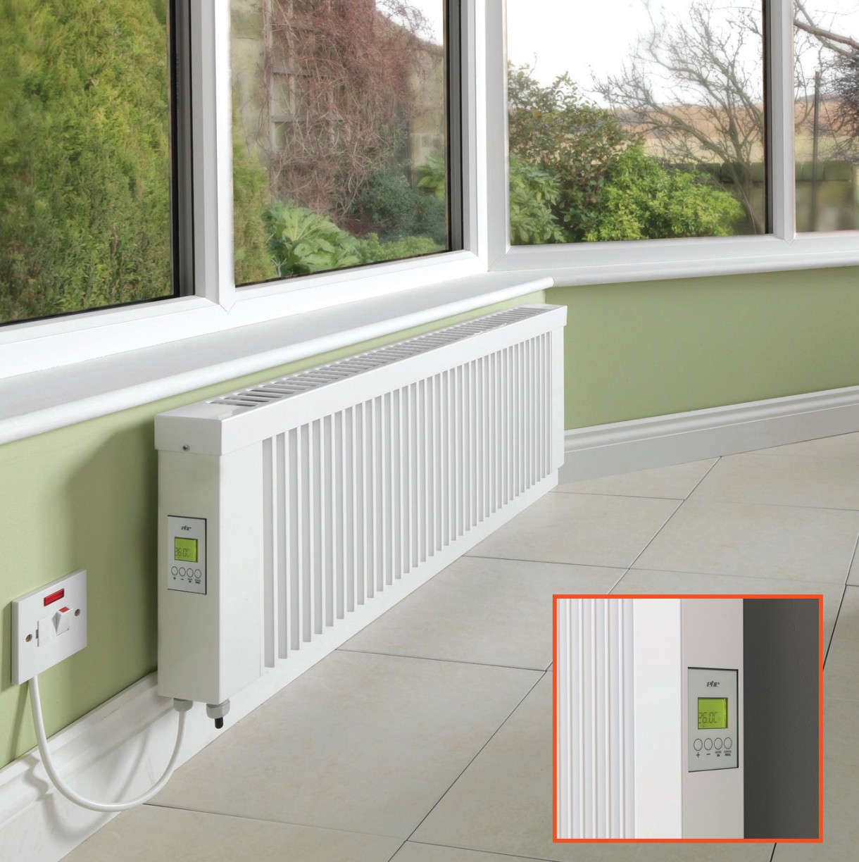 Trusted Heating Electric Radiators Conservatory